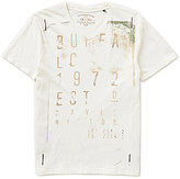 Buffalo David Bitton Taold Logo Graphic Short-Sleeve V-Neck Tee
