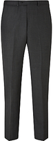 John Lewis Birdseye Wool Regular Fit Suit Trousers, Charcoal