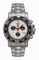 Swiss Military Men's Navy Diver Chronograph Dial Stainless Steel