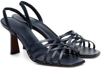Neous Scuticaria leather sandals