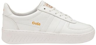 Gola Grandslam Leather Lace Up Trainers