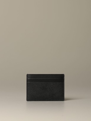 Bally Bhar.of Credit Card Holder In Coated Canvas With Trainspotting