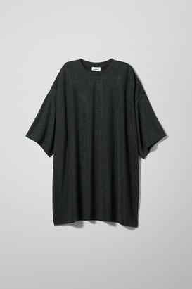 Weekday Jun T-shirt Dress - Black