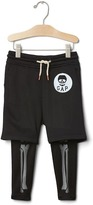 Gap Skeleton crawler short leggings