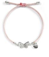 White House Black Market Give Hope Butterfly Bracelet