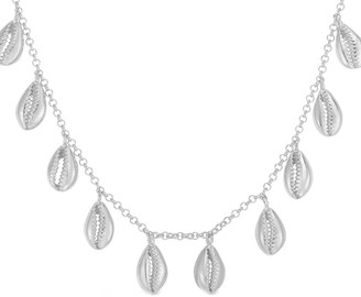 Sphera Milano 14K Over Silver Multi-Shell Necklace