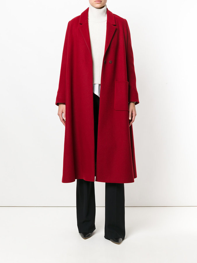 Forte Forte long oversized coat
