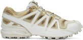 Boris Bidjan Saberi White Salomon Edition Speedcross 4 Sneakers