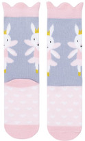 Billy Loves Audrey Ballet Rabbit Ankle Sock With Wings