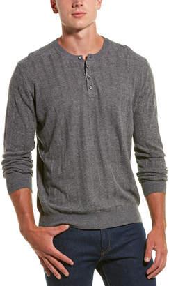 Robert Graham Calvin Linen-Blend Henley Sweater