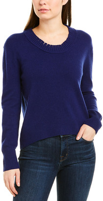 Inhabit Distressed Wool & Cashmere-Blend Sweater