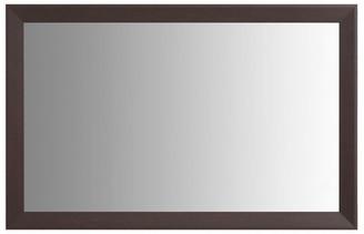 "Frame My Mirror LaRue Espresso Framed Mirror, 20""x36"""