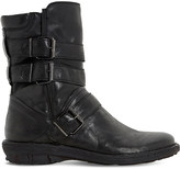 Dune Rania leather biker boots