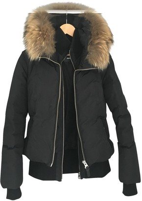 Mackage Black Leather Jacket for Women