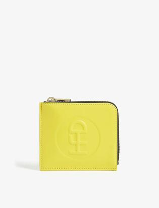 Honey Dijon Small leather wallet