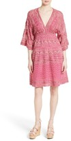 M Missoni Women's Zigzag Metallic Knit Dress