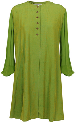 Christian Dior Green Synthetic Tops
