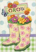 Dimensions Counted Cross Stitch Kit, Grow