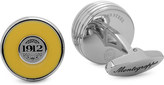 Montegrappa Piace steel inlay cufflinks