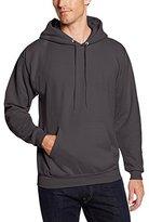 Hanes Men's Pullover EcoSmart Fleece Hoodie, Smoke Grey, Medium