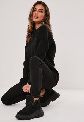 Missguided Tall Black Basic Joggers