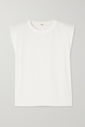Frankie Shop Eva Cotton-jersey Tank - White
