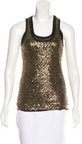 Robert Rodriguez Embellished Sleeveless Top