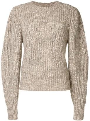 Etoile Isabel Marant Long-Sleeved Chunky Knit Sweater