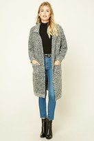 Forever 21 FOREVER 21+ Contemporary Marled Cardigan