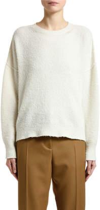 Marni Fuzzy Knit Oversized Crewneck Sweater