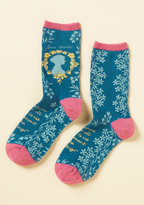 ModCloth Like Author Like Daughter Socks