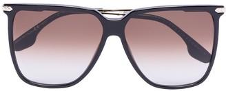 Victoria Beckham Eyewear Square-Frame Gradient Sunglasses