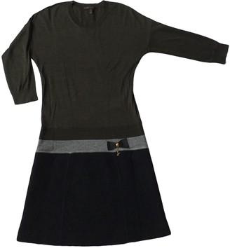 Louis Vuitton Green Wool Dresses