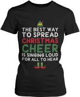 Love 365Printing Best Way To Spread Christmas Cheer Green Unisex Shirt Holiday Gift