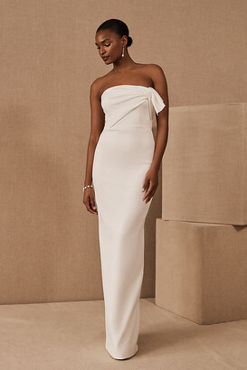 Black Halo Divina Gown By in White Size 2