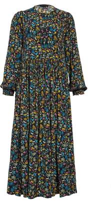 Sanctuary Long Sleeve Floral Prairie Dress