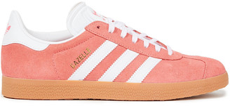 adidas Gazelle Leather-trimmed Suede Sneakers