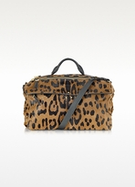 Jerome Dreyfuss Raoul - Leopard Print Satchel Bag