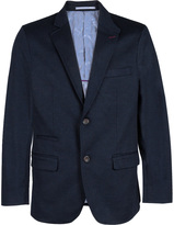 James Tattersall Men's Soft Qui Notch Lapel Blazer