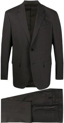 Ermenegildo Zegna Check Pattern Two-Piece Suit