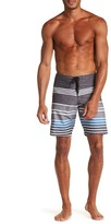 Micros Stretch Stripe Boardshort