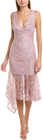Karina Grimaldi Julia Sheath Dress