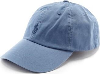 Polo Ralph Lauren Logo-embroidered Cotton-twill Cap - Blue
