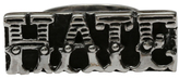 Femme Metale Jewelry Hate Bar Ring