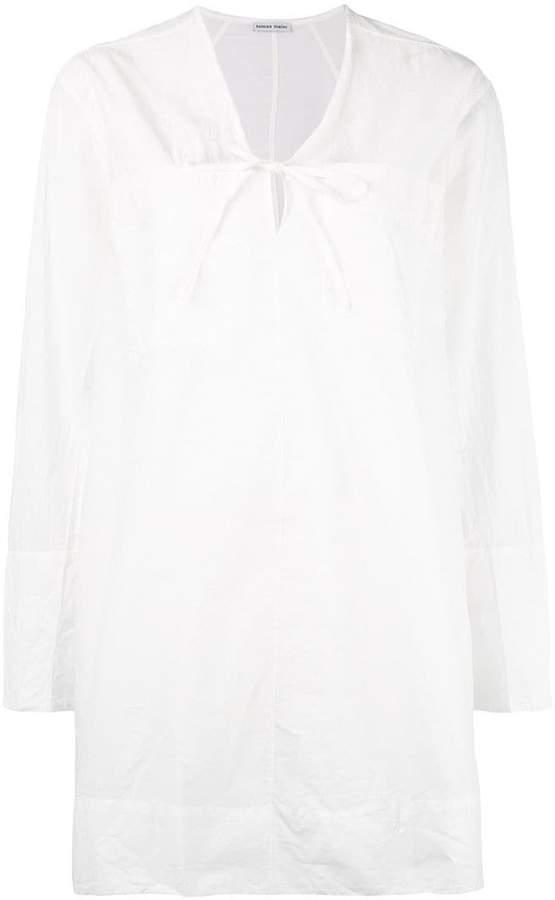 Tomas Maier v-neck tunic dress