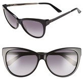 Ted Baker Women's 57Mm Cat Eye Sunglasses - Black