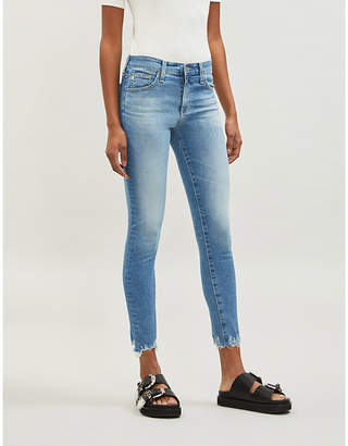 AG Jeans Farrah Skinny Ankle skinny high-rise jeans