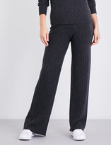Madeleine Thompson Drake ribbed cashmere pyjama bottoms