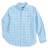 Vineyard Vines Boy's Riverhead Gingham Cotton Shirt