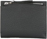 Maison Margiela zip compartment billfold wallet - unisex - Calf Leather - One Size
